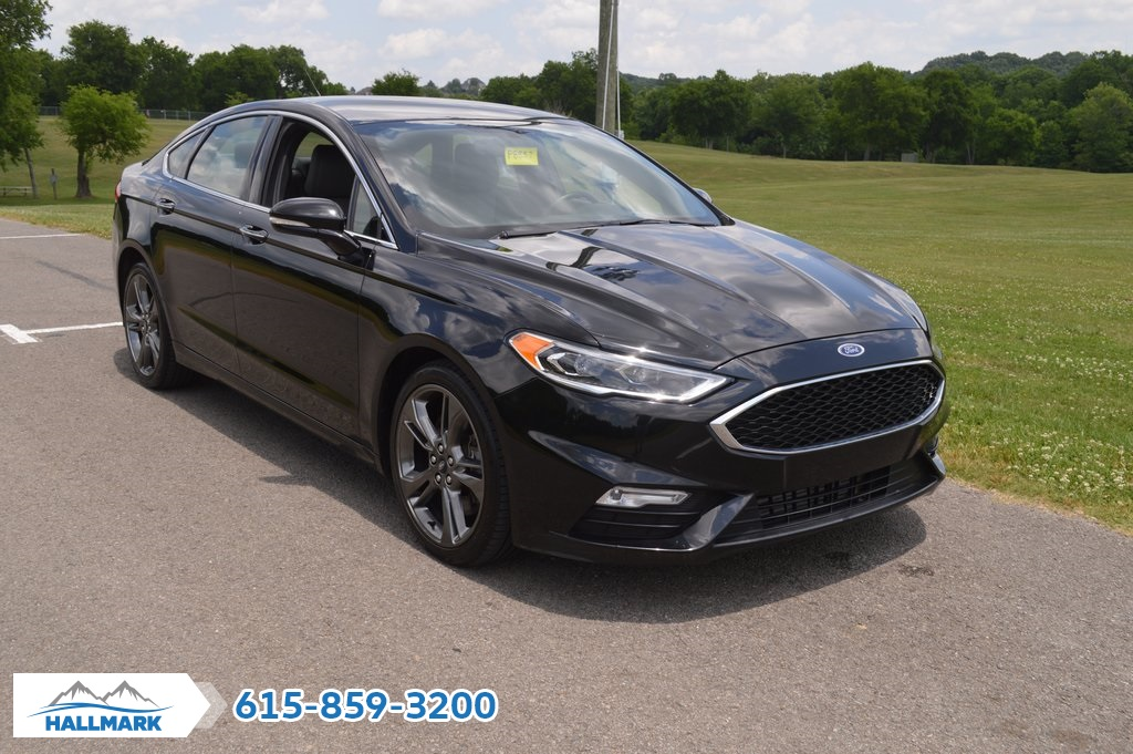 Ford Fusion Sport >> Pre Owned 2017 Ford Fusion Sport 4d Sedan In Madison P8557