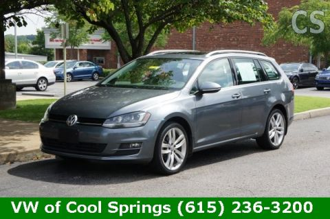 Certified Pre-Owned 2015 Volkswagen Golf SportWagen SEL